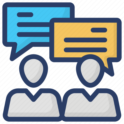 chatting, communication, conversation, gossips, talking icon