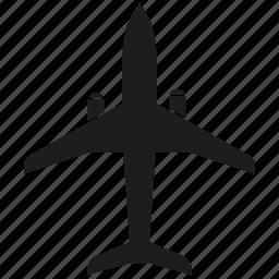 plane, travel icon