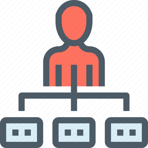 business, chart, corporate, management, people, plan, planning icon