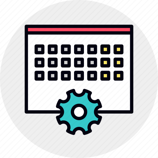 Event, management, processing, schedule, timing, work icon - Download on Iconfinder