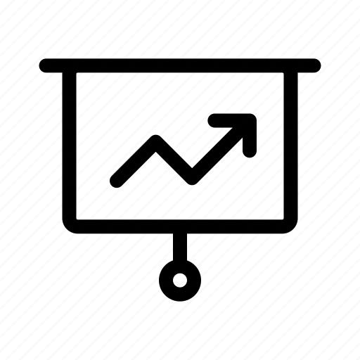 Analytics, business, graph, management, presentation icon - Download on Iconfinder