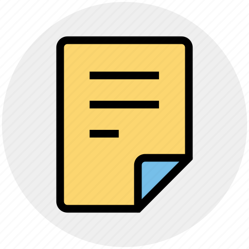 document, file, office, page, paper, sheet icon
