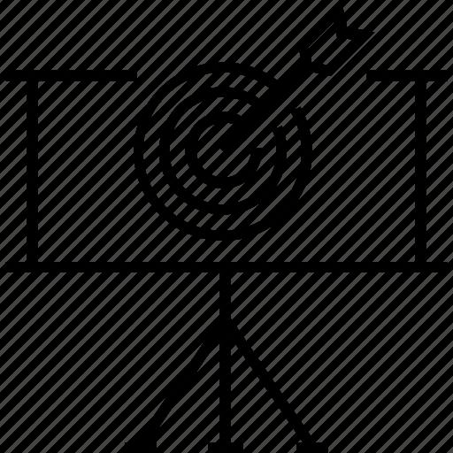 advertising, bullseye, goal, objective, target icon
