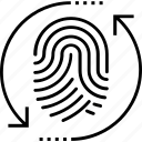 expert system, fingerprint, identity processing, thumb impression, thumb print icon