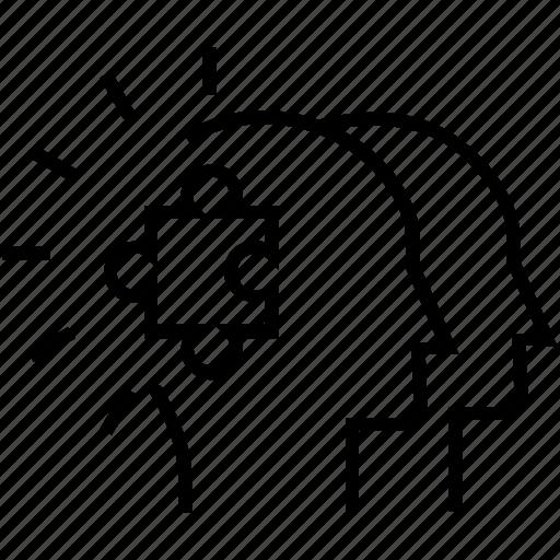 project teams, puzzle, solution, statistics, teams icon