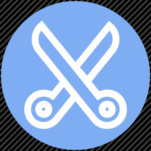 cut, cutter, cutting, edit, scissor, scissors icon