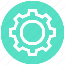 cog, engine, gear, management, options, settings, setup icon