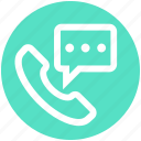 business, call, chat, communication, phone, talk icon