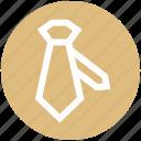 business, dress, necktie, tie, uniform tie icon