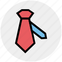 business, dress, necktie, tie, uniform tie icon