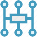 business, communication, connection, international, link, management, network icon