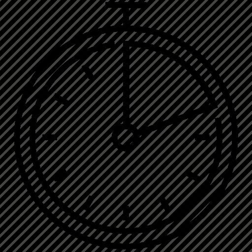 chronometer, counter, perform, speed, stopwatch icon