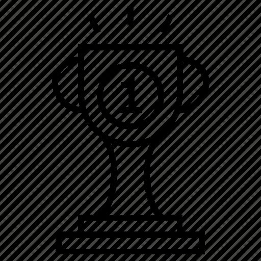 achievement, award, reward, success, trophy icon