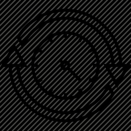 customer response rate, feedback, productivity, response, satisfaction icon