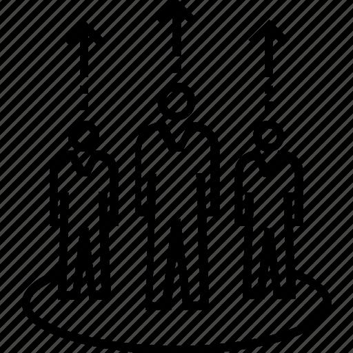 group, management, organization, team, team development icon
