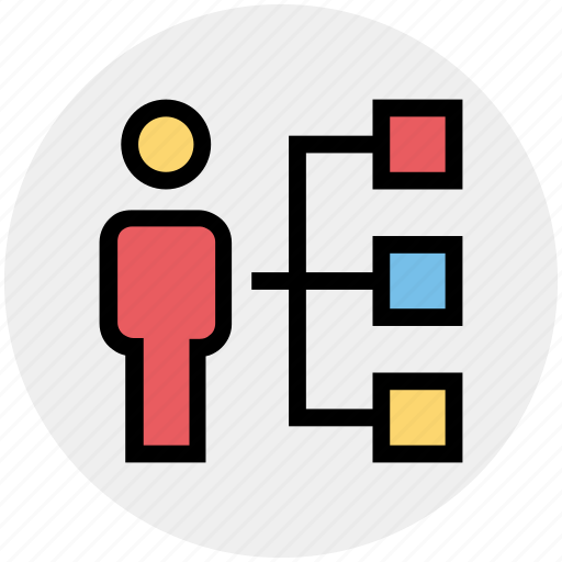 business, connection, link, network, sharing, user icon