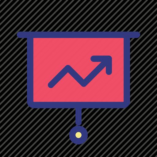 analytics, business, growth, management, statistics icon