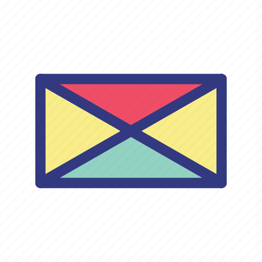 business, growth, letter, management icon