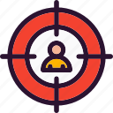 aim, business, management, target
