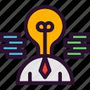 business, creative, idea, man, management
