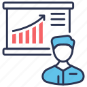 board, business, graph, presentation, statistic