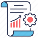 management, method, performance, product icon