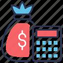 budget, calculator, finance, money, planning