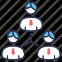 delegation assignment, delegation tasks, launch, management leadership, optimization, rocket, startup icon