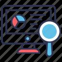 analysis, business, data, monitoring, report, seo, statistics icon