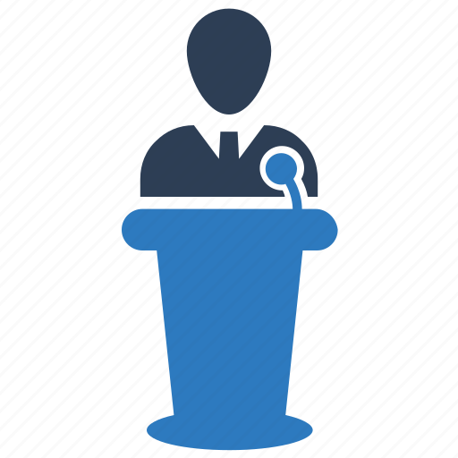Conference, presentation, speech icon - Download on Iconfinder