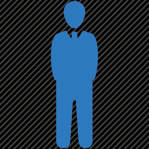 businessman, user, worker icon