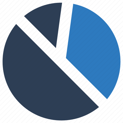 graph, pie chart, statistics icon