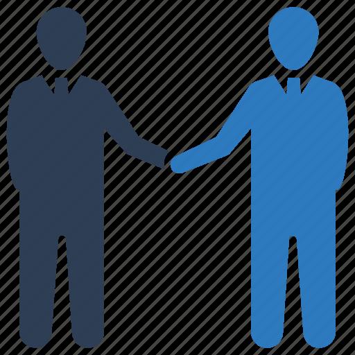 business deal, business partnership, handshake icon