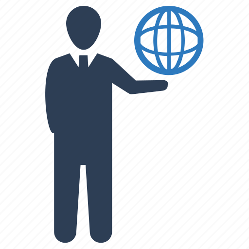 communication, global, network icon