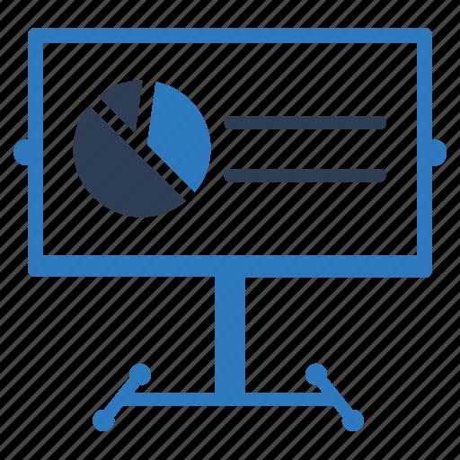 chart, conference, presentation icon