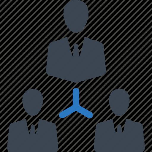 businessman, connection, team, teamwork icon