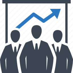 business meeting, businessman, teamwork icon
