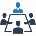 conference, debate, discuss, meeting, negotiation, team meeting icon