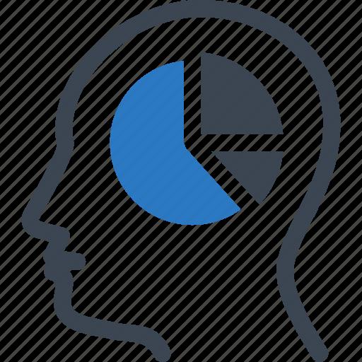 analytics, business report, pie chart icon