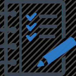 checklist, tasks, to do list, wishlist icon