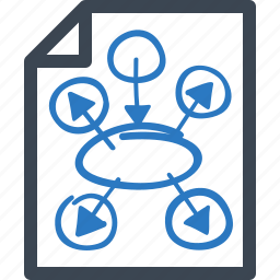 business plan, marketing plan, strategy icon