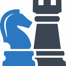 business, chess, game, strategy icon