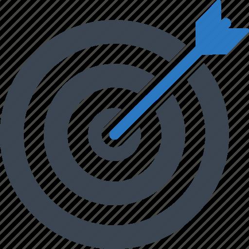 aspirations, business goal, dartboard, target icon