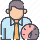 clock, efficiency, management, productivity, time, work icon