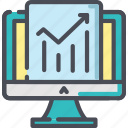 chart, data, diagram, graph, growth, report, stats icon
