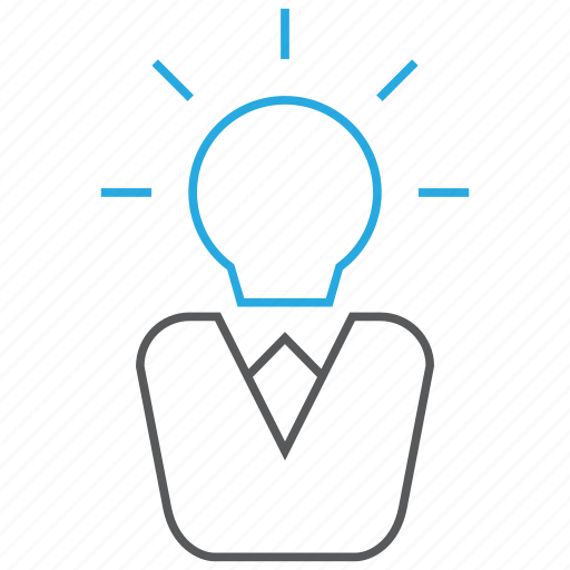 business, creativity, idea, solution icon