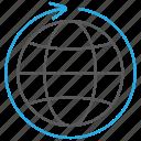 business, global, globe, international, travel, worlwide icon