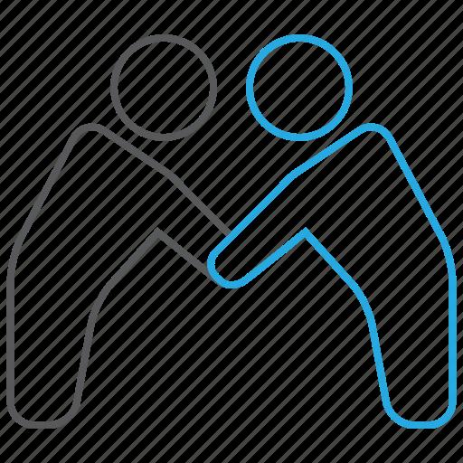 business, deal, handshake, partnership icon