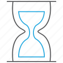 hourglass, sand clock, time, timer icon
