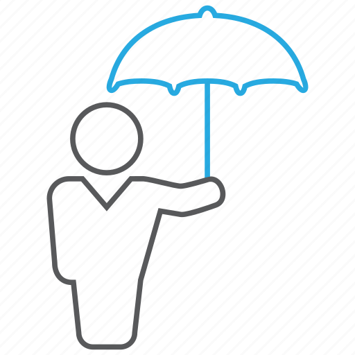 business, insurance, protection, protector icon